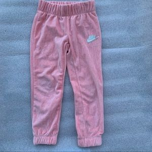 Nike pink sweatpants for toddler size XS/4